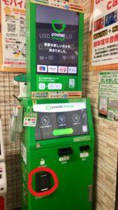 Pocket Change ICタッチ部分